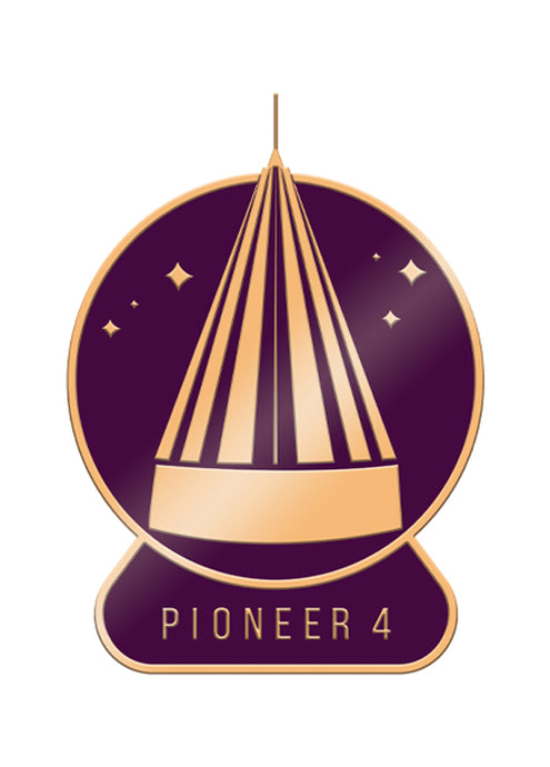SciShow Pin Of The Month: Pioneer 4 (March)