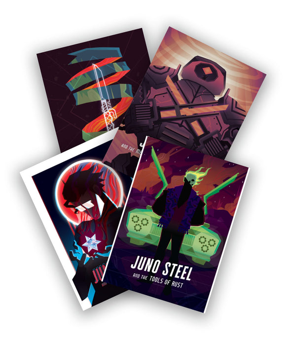 Juno Steel Postcard Pack