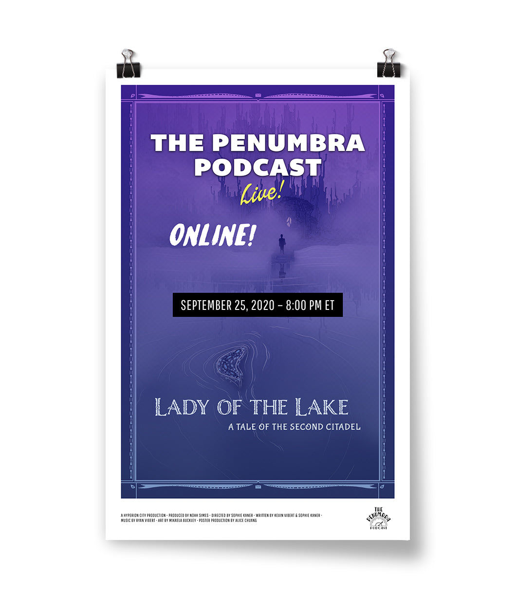 Lady of the Lake: Tale From the Second Citadel Poster