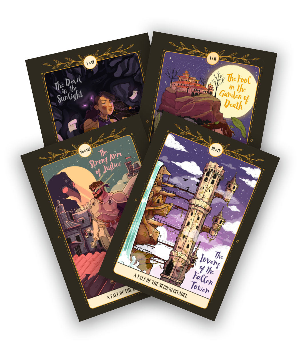Second Citadel Postcard FOUR Pack