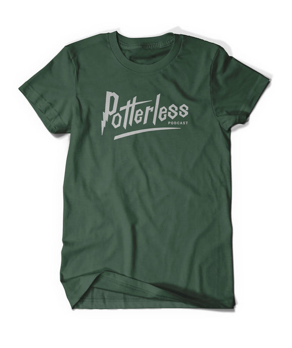 Potterless House T-shirt - Slytherin