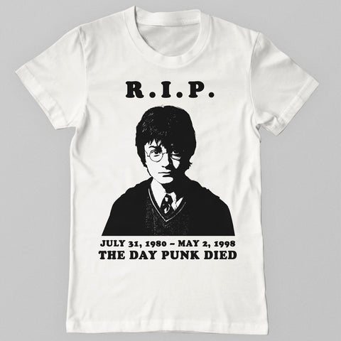 The Day Punk Died Shirt