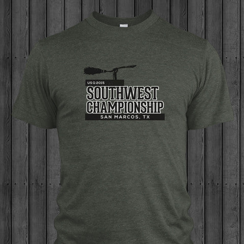 US Quidditch Regionals Shirt- SouthWest 2015