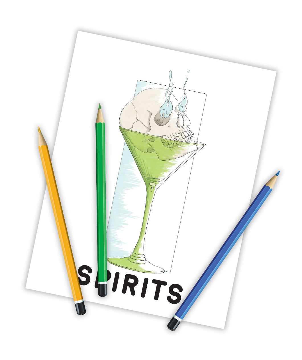 Spirits Coloring Book