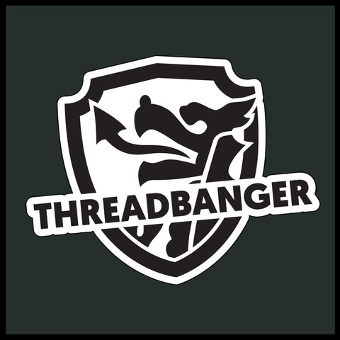 ThreadBanger Shield Sticker Decal