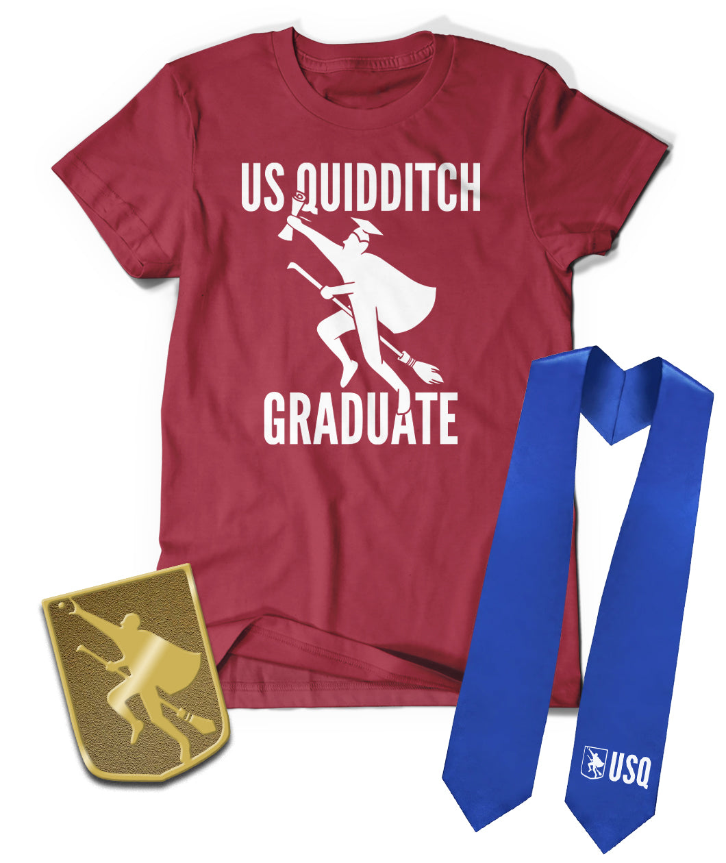 USQ Graduation Bundle - Shirt, Pin, & Stole