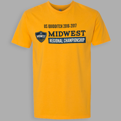 US Quidditch Regionals Shirt - Midwest 2016-2017