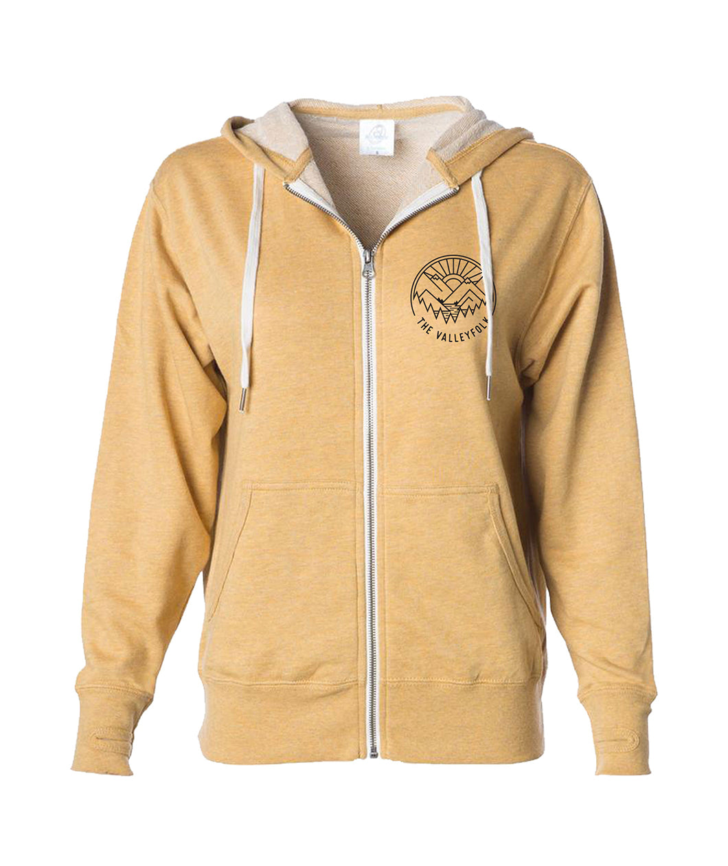 The Valleyfolk Zip Up Hoodie