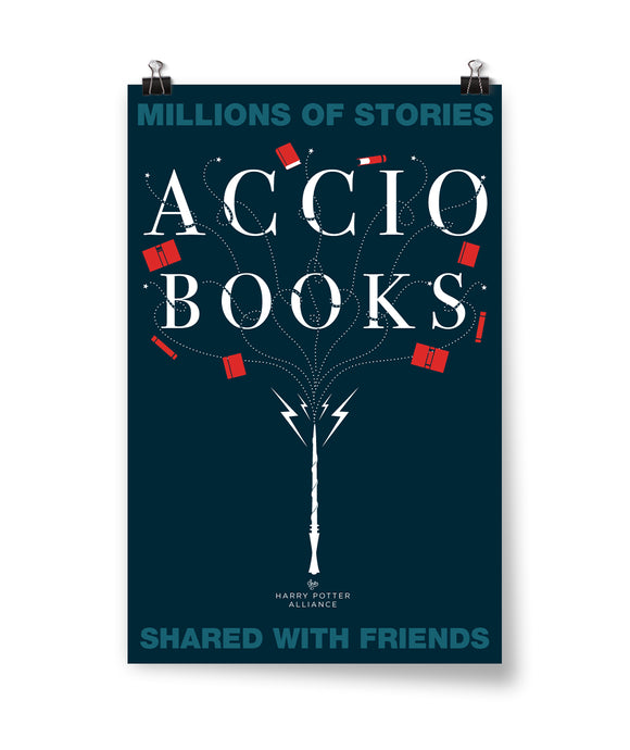 Accio Books Poster - Staff