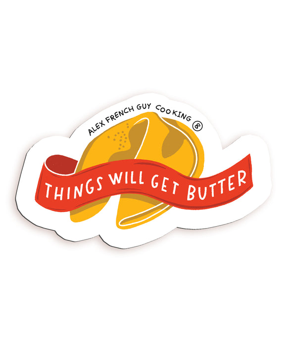 Alex's Monthly Magnet! Things Will Get Butter (July)