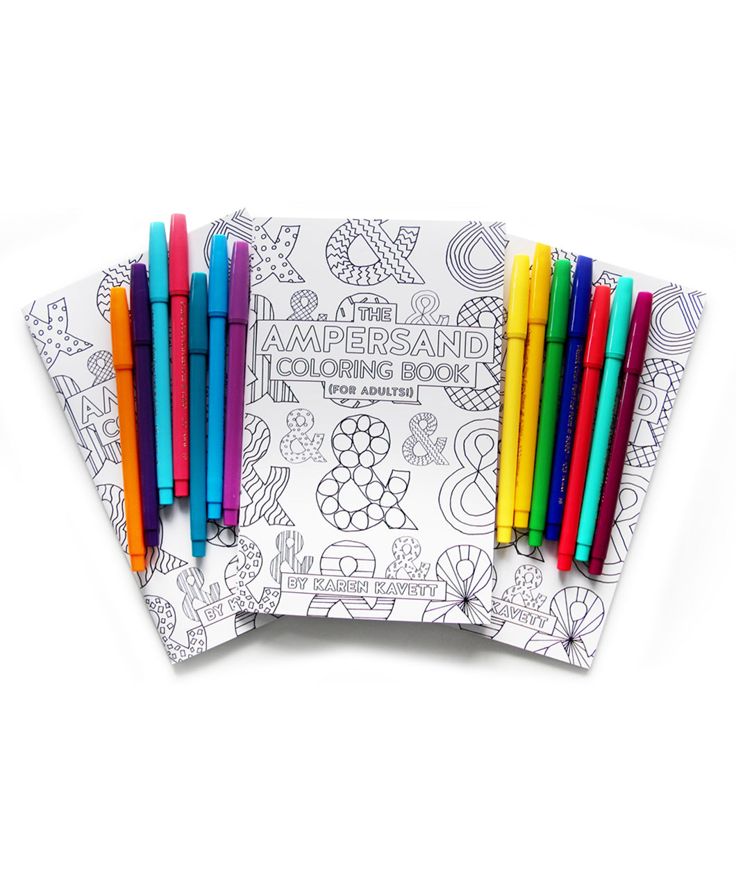 The Ampersand Coloring Book For Adults