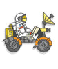 SciShow Pin Of The Month: Apollo 17 Lunar Rover (December)