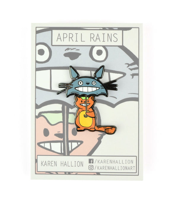 April Rains Pin