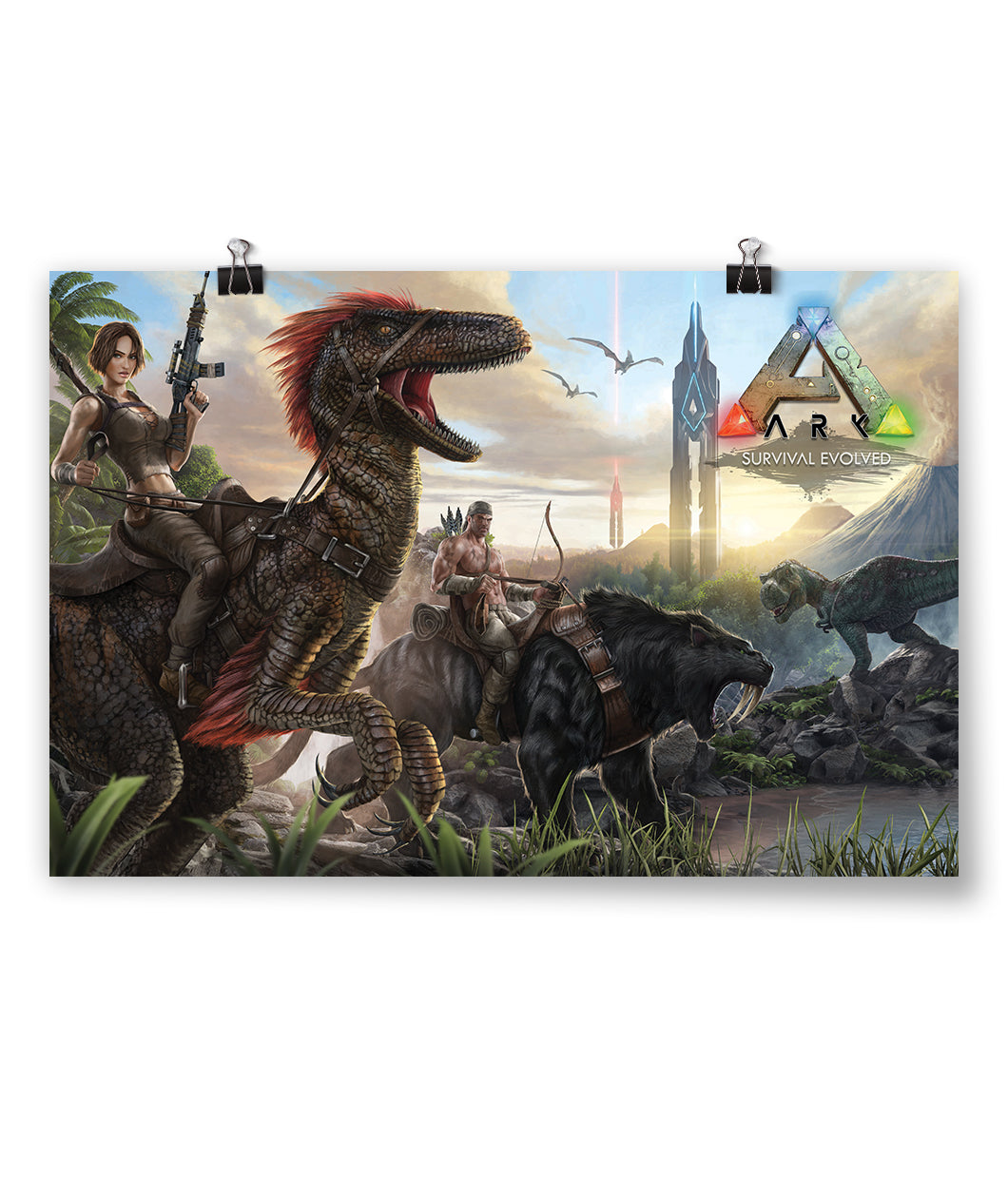 ARK: Survival Evolved Poster