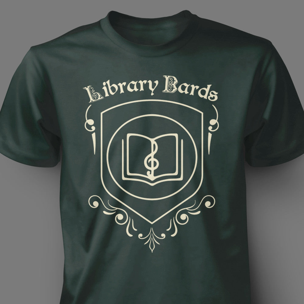 Library Bards Crest Shirt