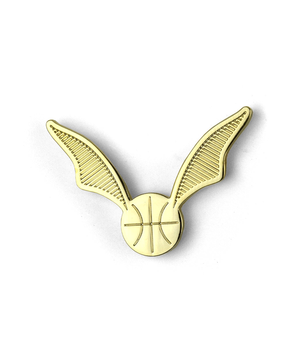 Potterless Basketball Snitch Enamel Pin