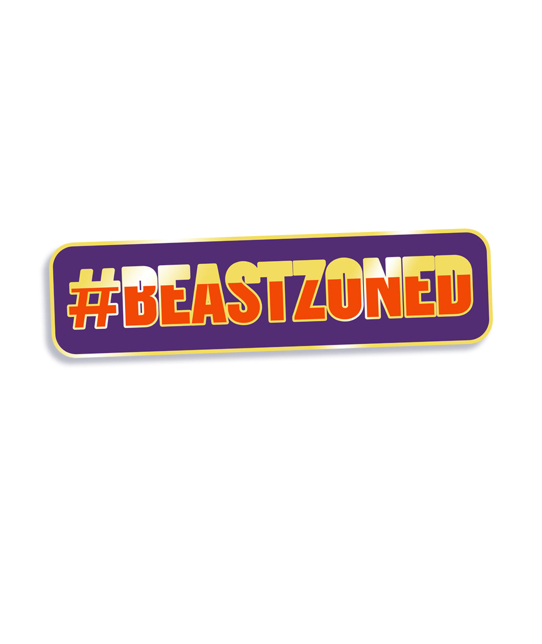 Beastzoned Enamel Pin - Patreon Price!