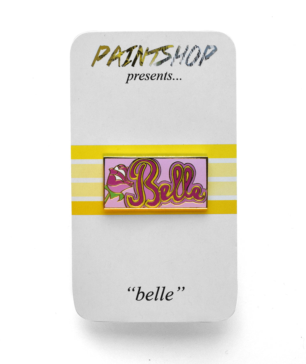 Belle Enamel Pin