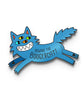 Pin Of The Month: Beware The Boogercat (February)