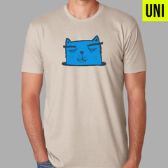 Kedicizdim Blue Cat Shirt