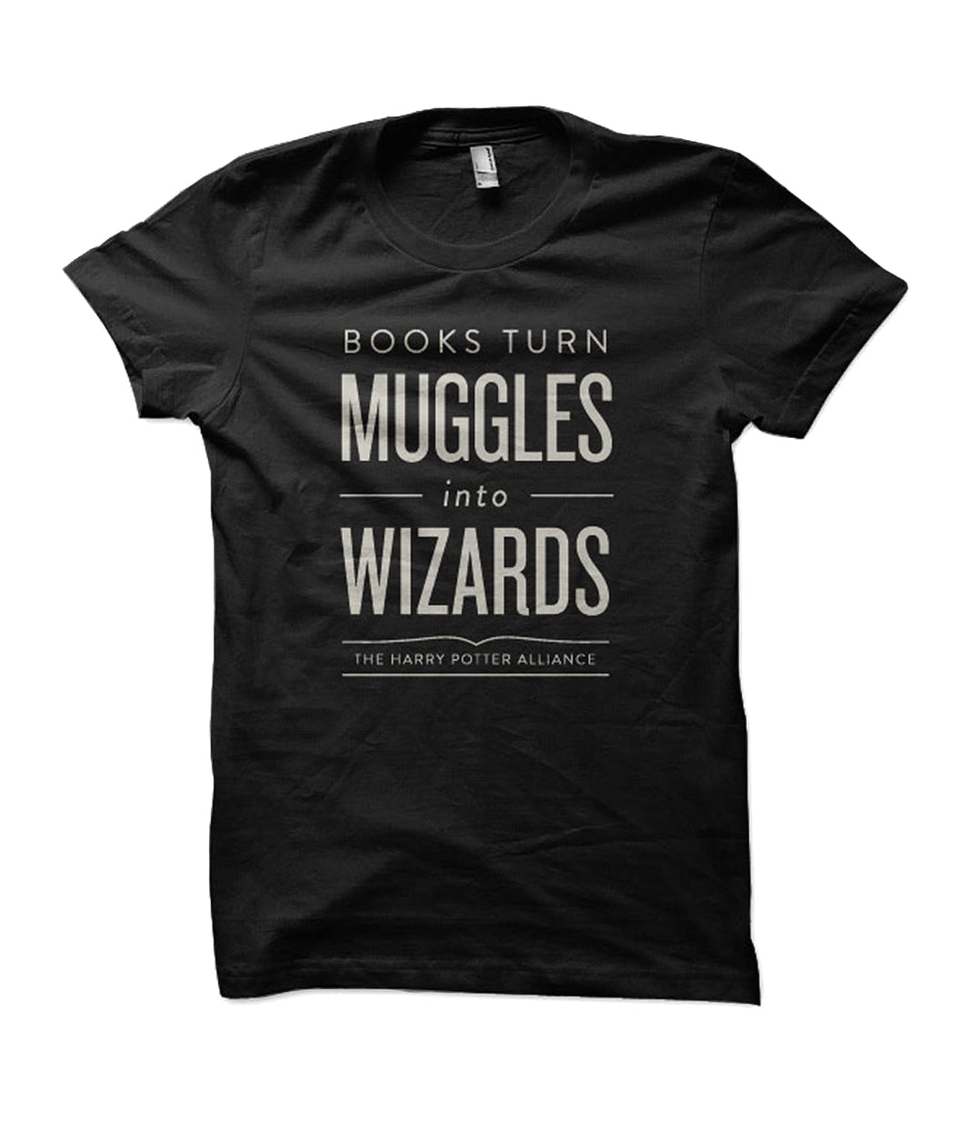 Books Turn Muggles into Wizards Shirt - Staff