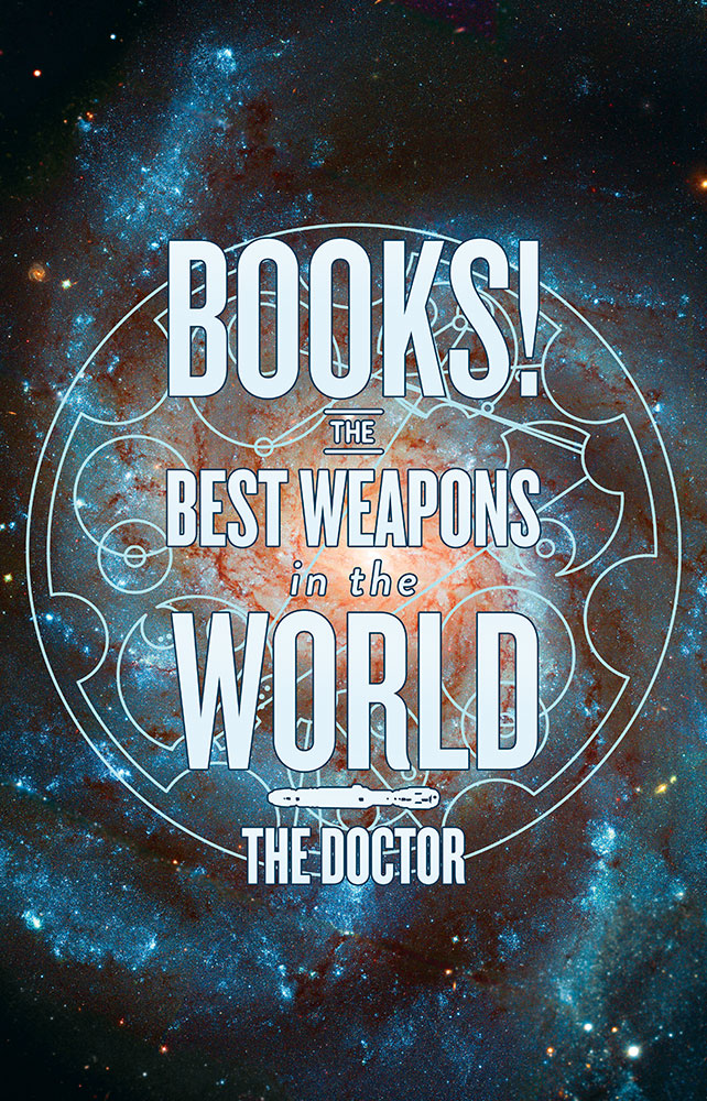 Books!  The Best Weapon in the World Poster