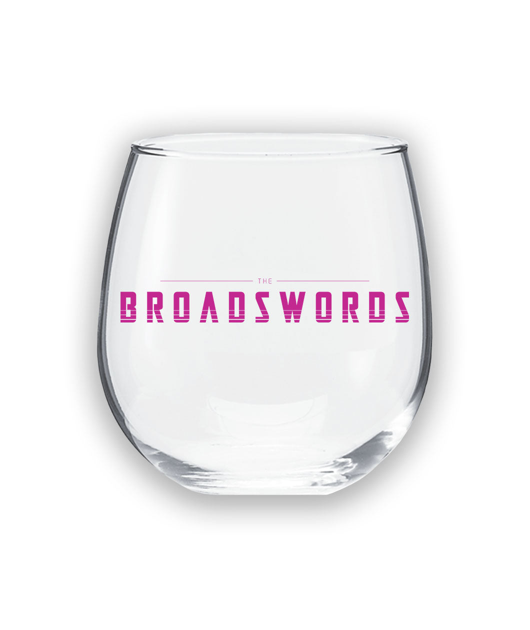 The Broadswords Wine Glass