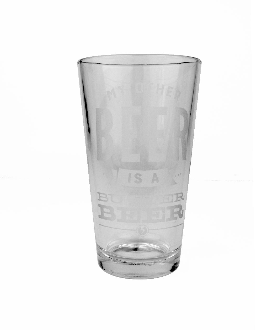 Butterbeer Pint Glass