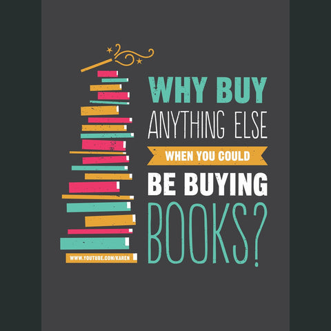 Could Be Buying Books Poster