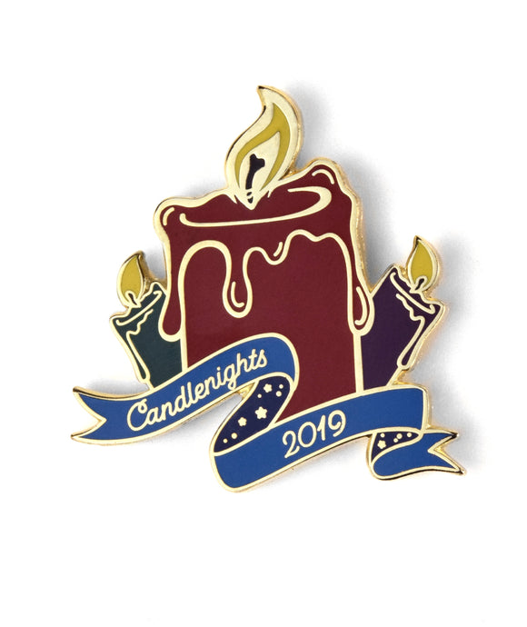 Pin Of The Month: Joyous Candlenights (November 2019)