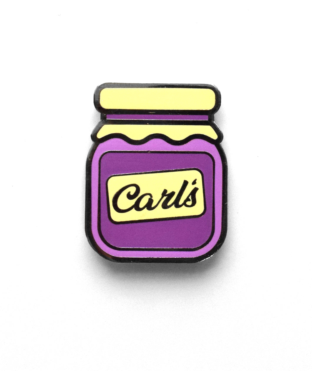 Carl's Jelly Enamel Pin