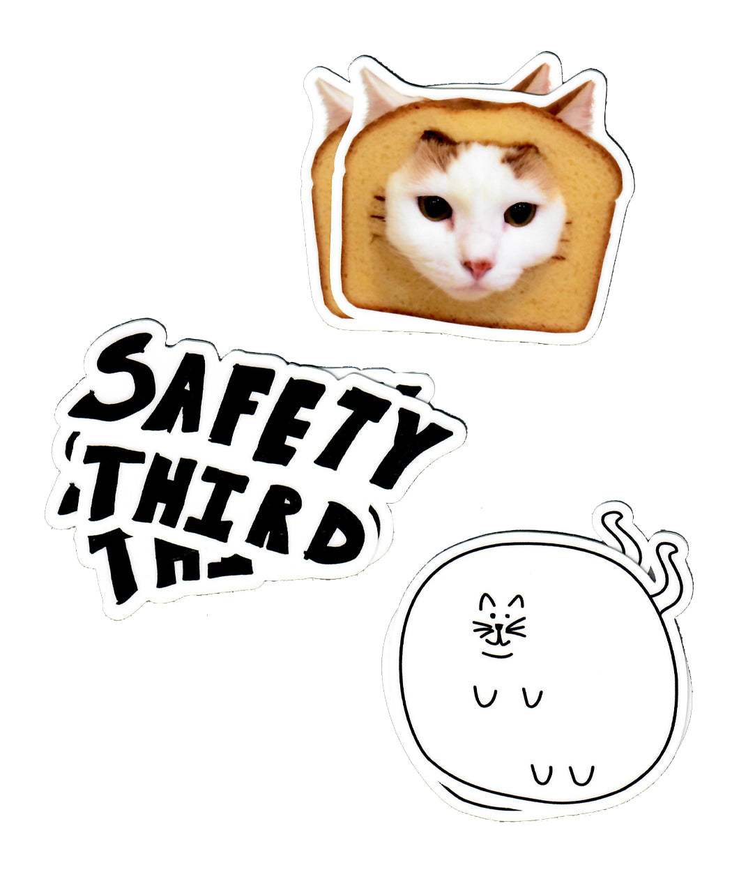 Safety Third Sticker Set