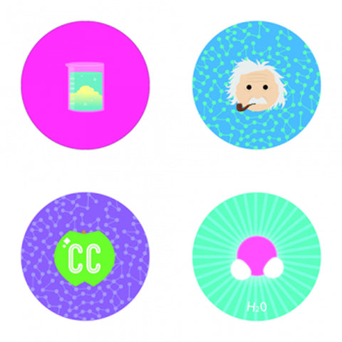 CrashCourse Button Packs
