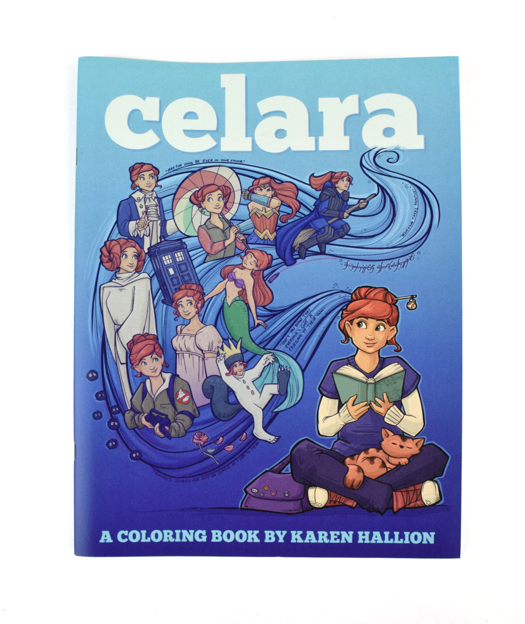 Celara Coloring Book for Adults