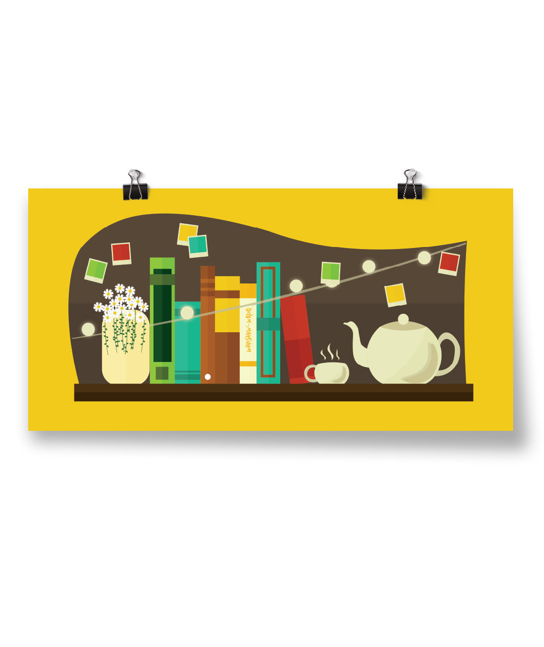 Chamomile Shelf Poster