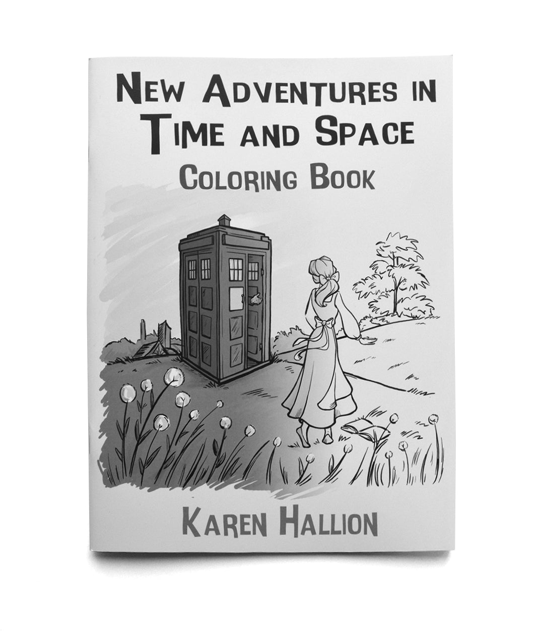 New Adventures in Time and Space Coloring Book for Adults