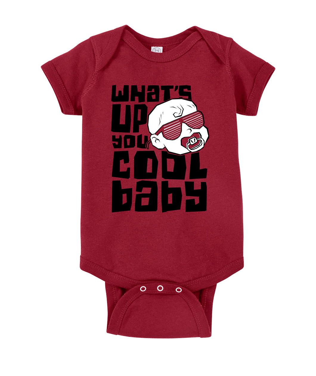 What's Up You Cool Baby Onesie