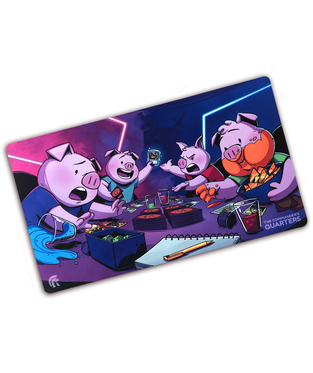 Pigs Playing Magic Kickstarter Playmat (Patreon Only - Signed and Unsigned Options)