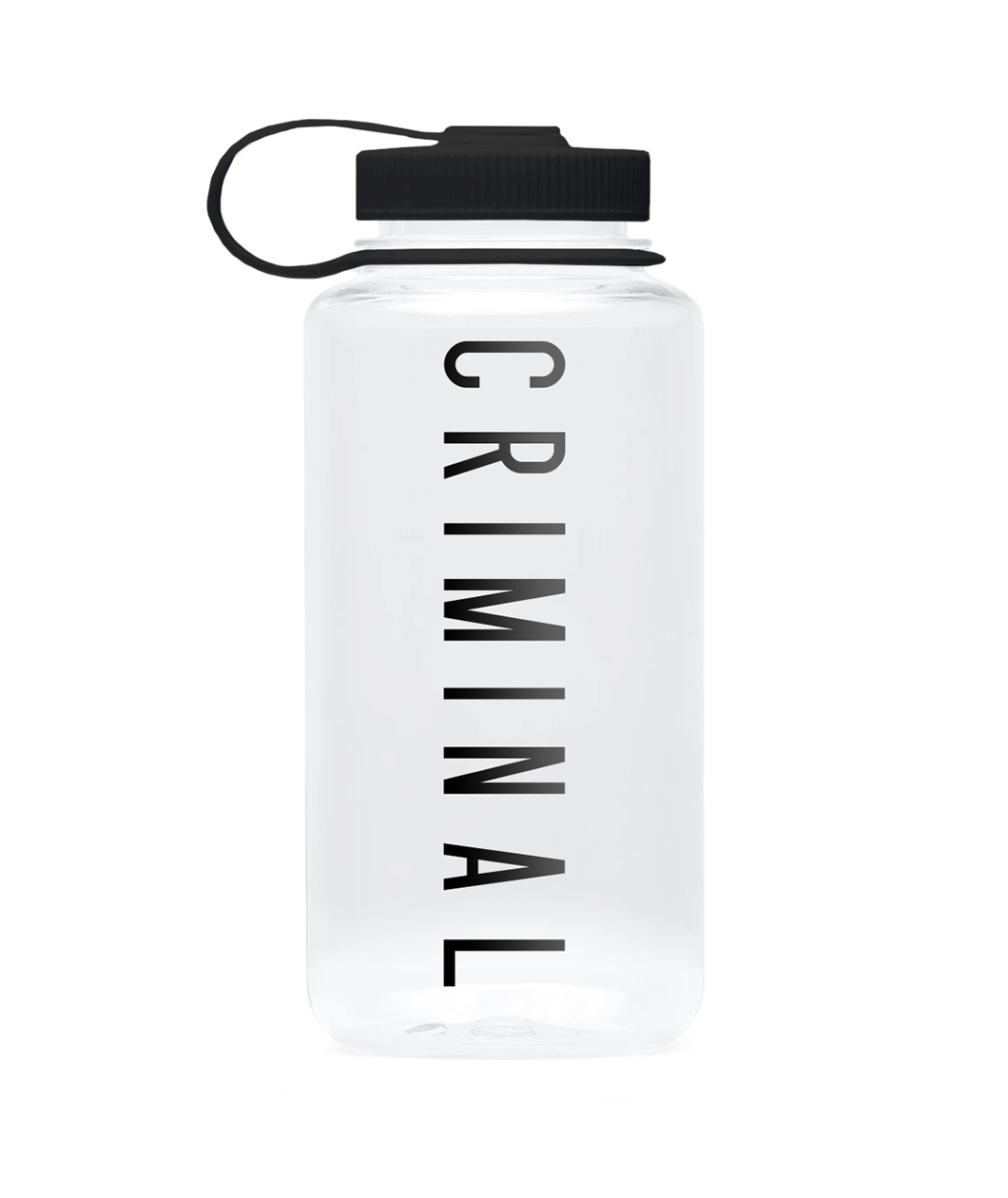 Criminal Water Bottle