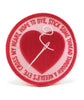 Cross My Heart, Hope to Dye Patch