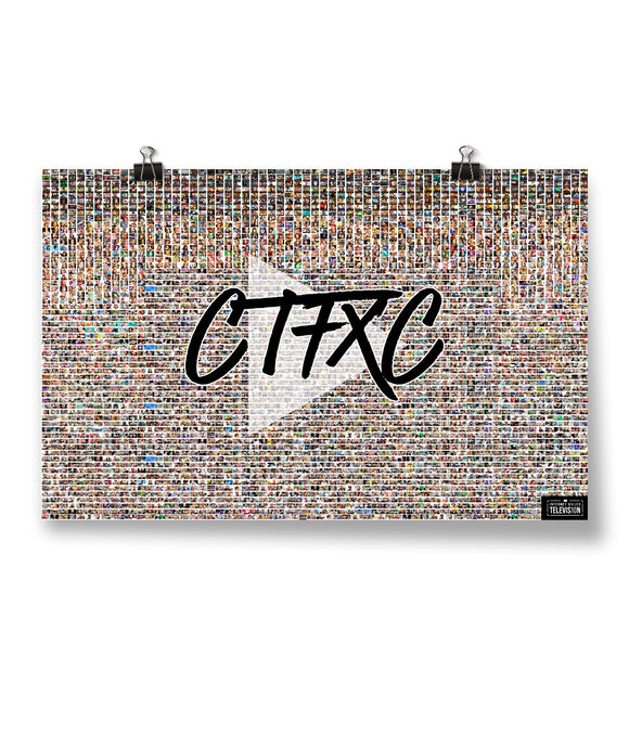 CTFxC 10 Years of Thumbnails Poster