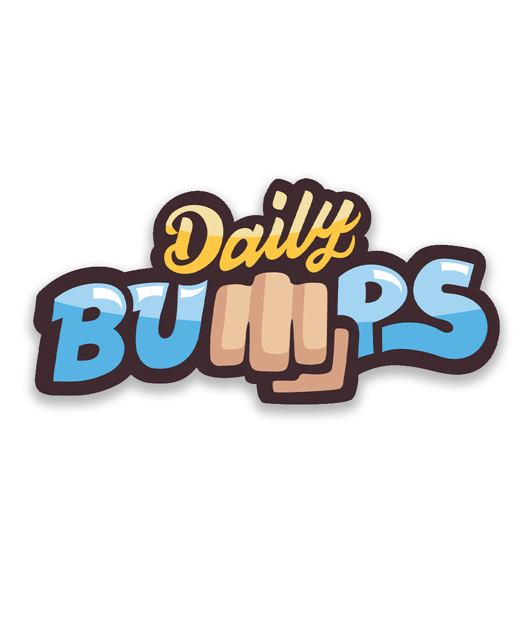 Daily Bumps Logo Decal