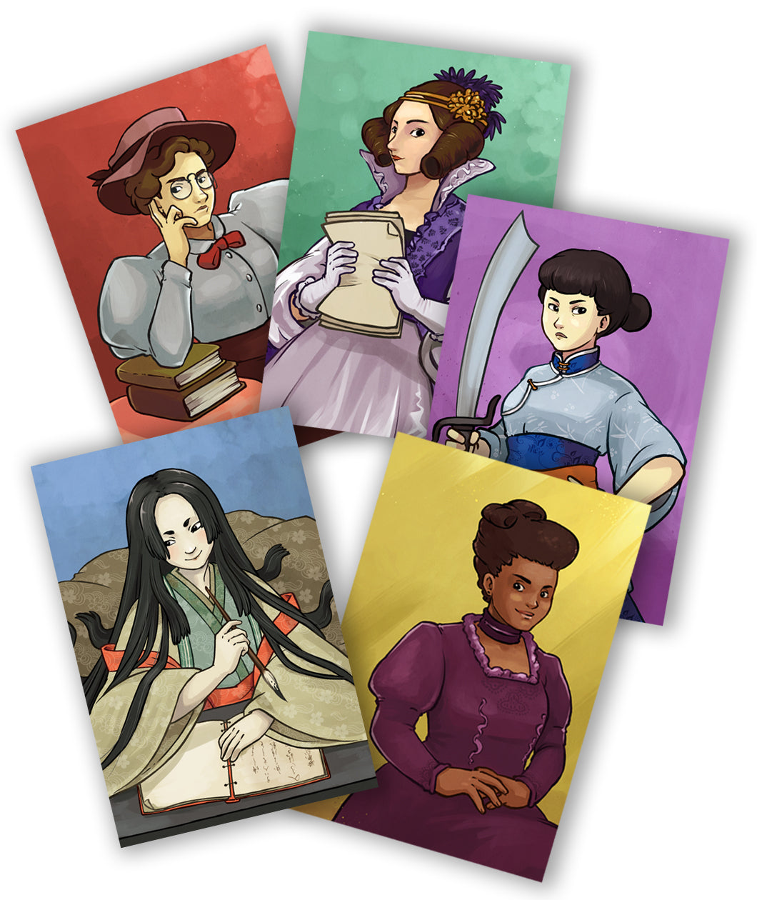 Defiant Five Postcard Set