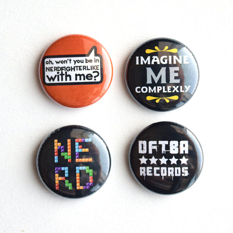 DFTBA Button Pack