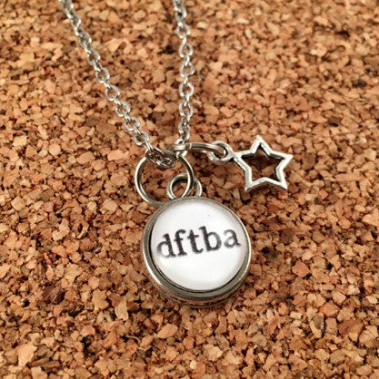 DFTBA Silver Necklace