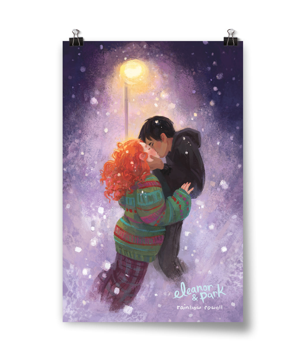 Eleanor and Park Kiss Poster *Signed Version Available*