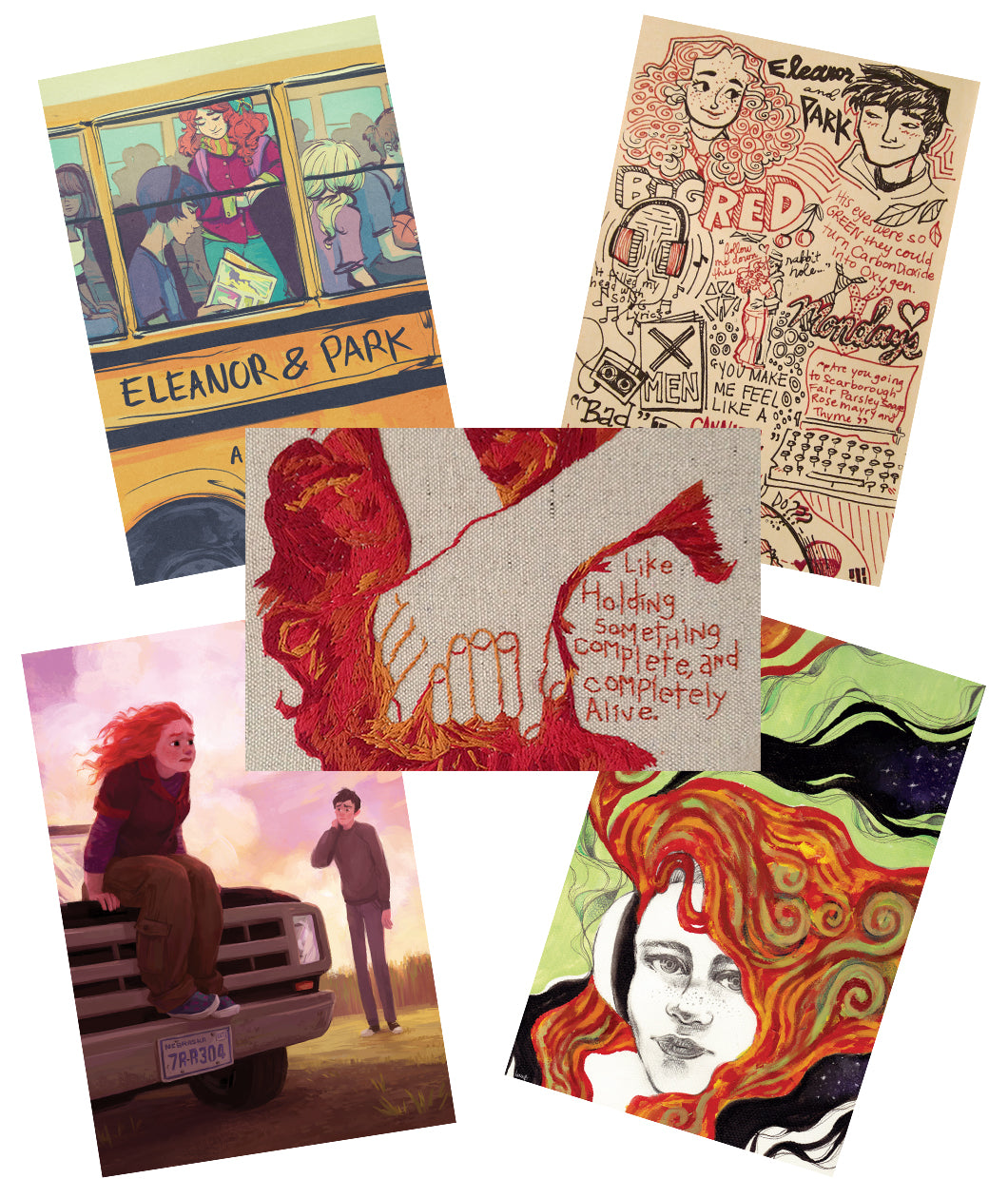 Eleanor and Park Print Set