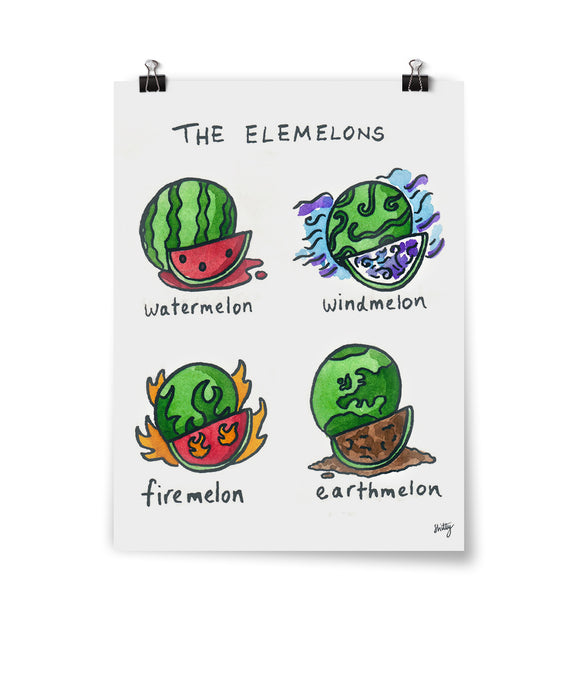 Elemelons Poster