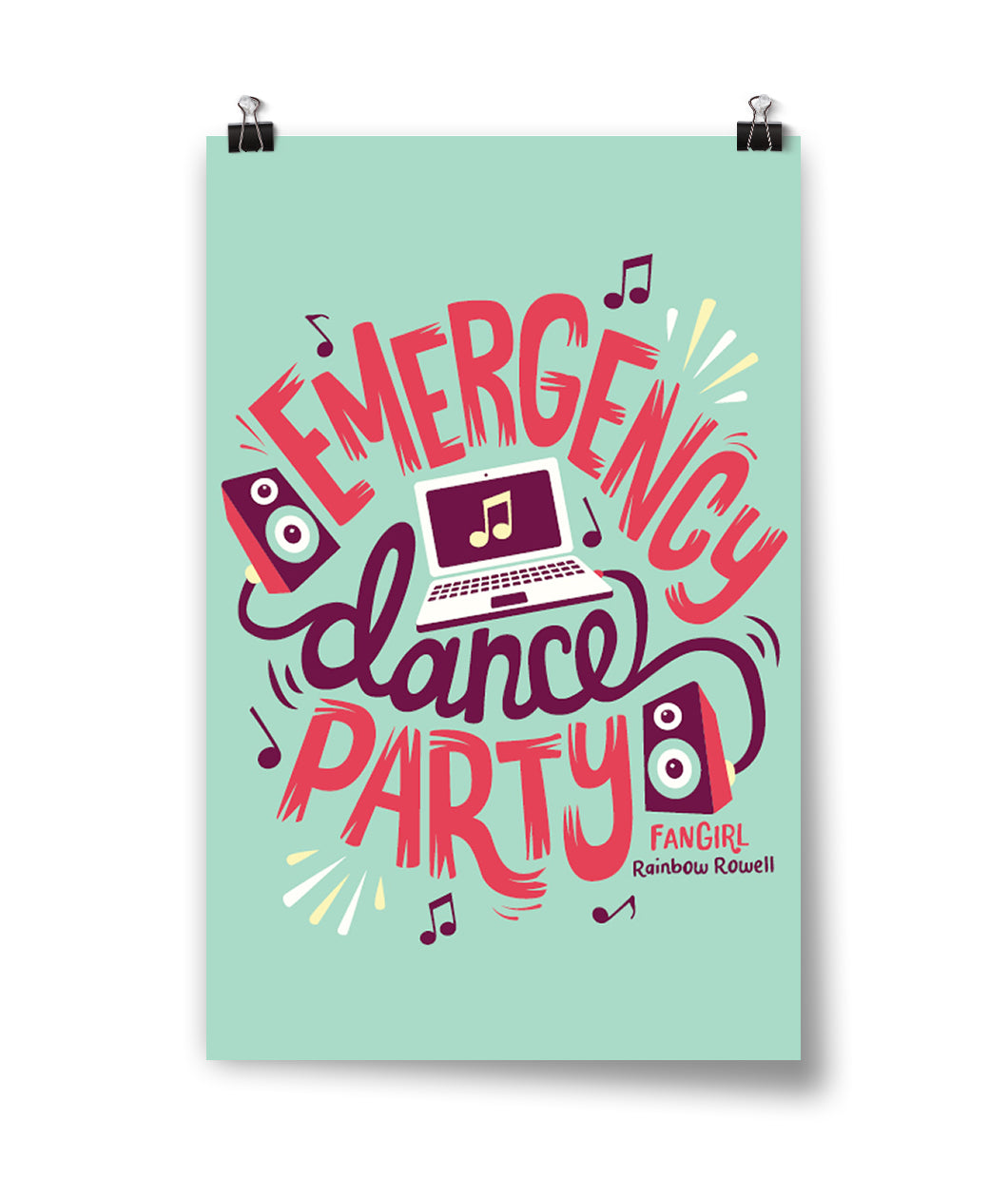 Emergency Dance Party Poster