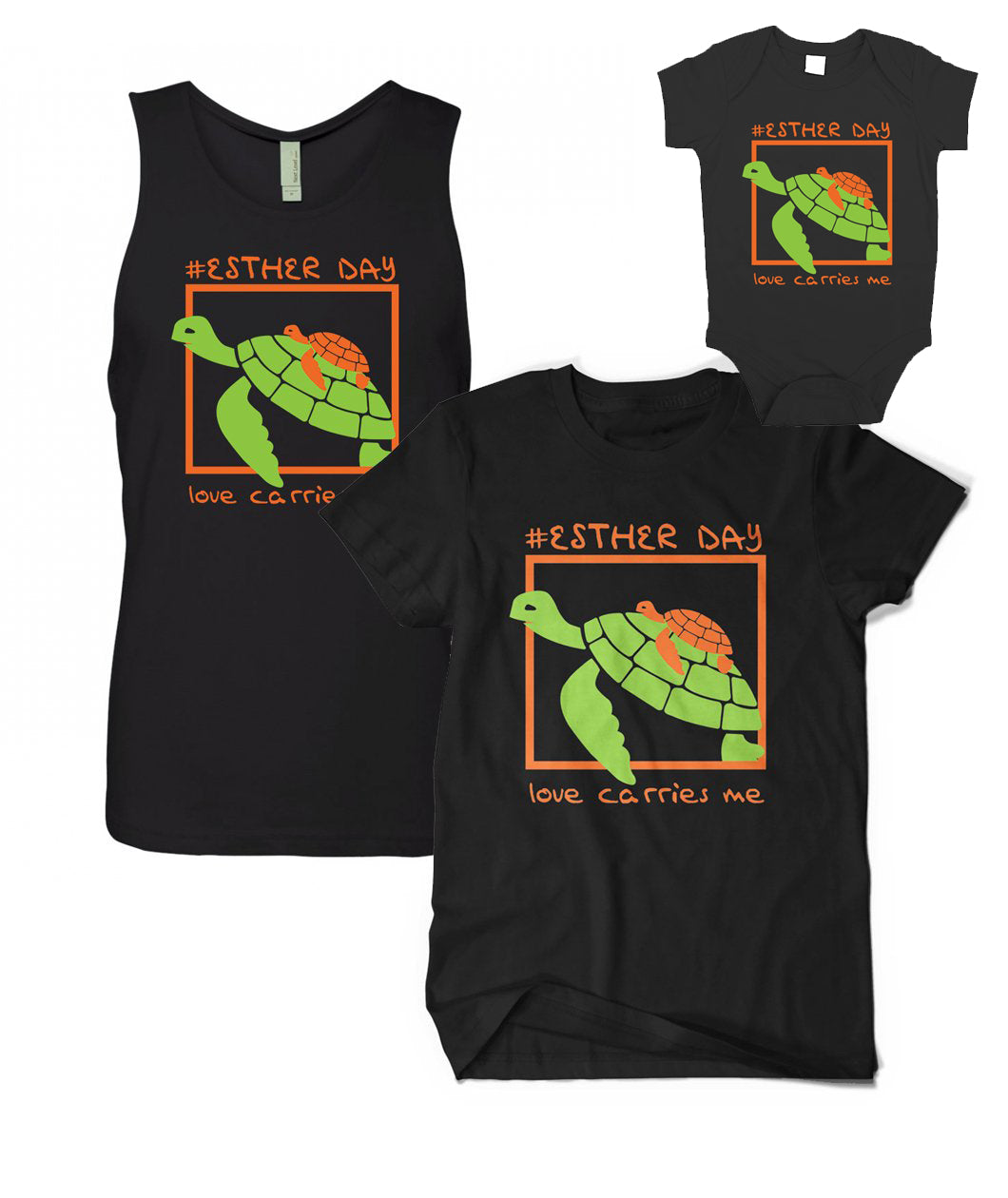Esther Day Turtle Shirt/Tank + Youth Sizes!